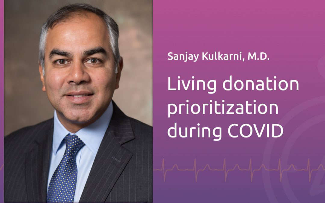 The ethical implications of continuing living donor transplants during COVID-19