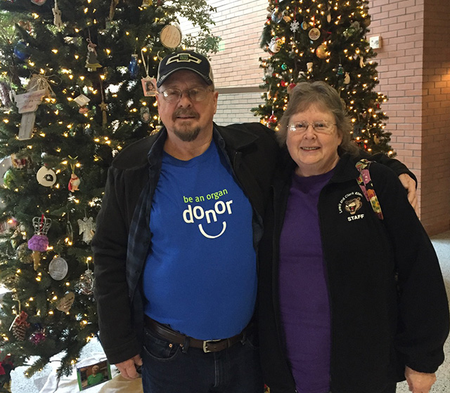James Averette, liver recipient, story of hope