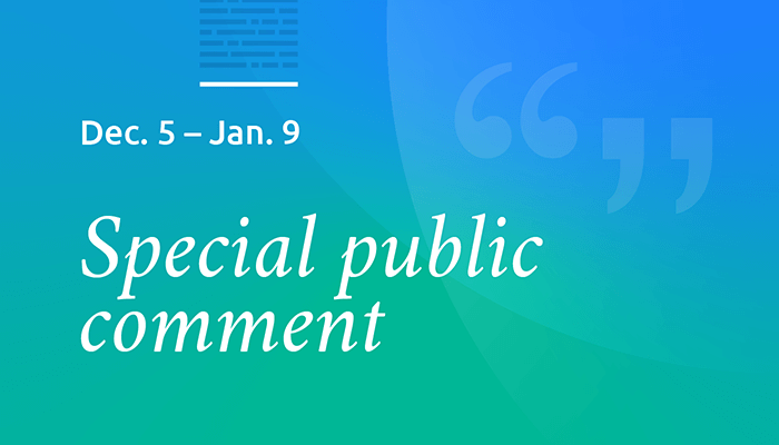 Public comment sought; Liver access for urgent candidates in Hawaii and Puerto Rico