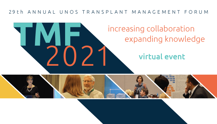 About 2021 Transplant Management Forum gold level sponsors