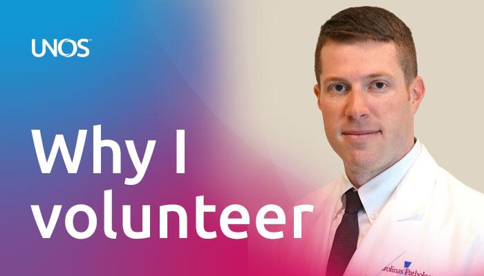 Why I volunteer: Pete Lalli, Ph.D., Carolinas Medical Center