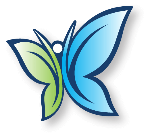National Donate Month butterfly
