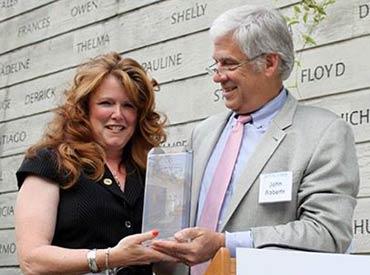 Patty Jo Herndon, 2013 National Donor Award winner