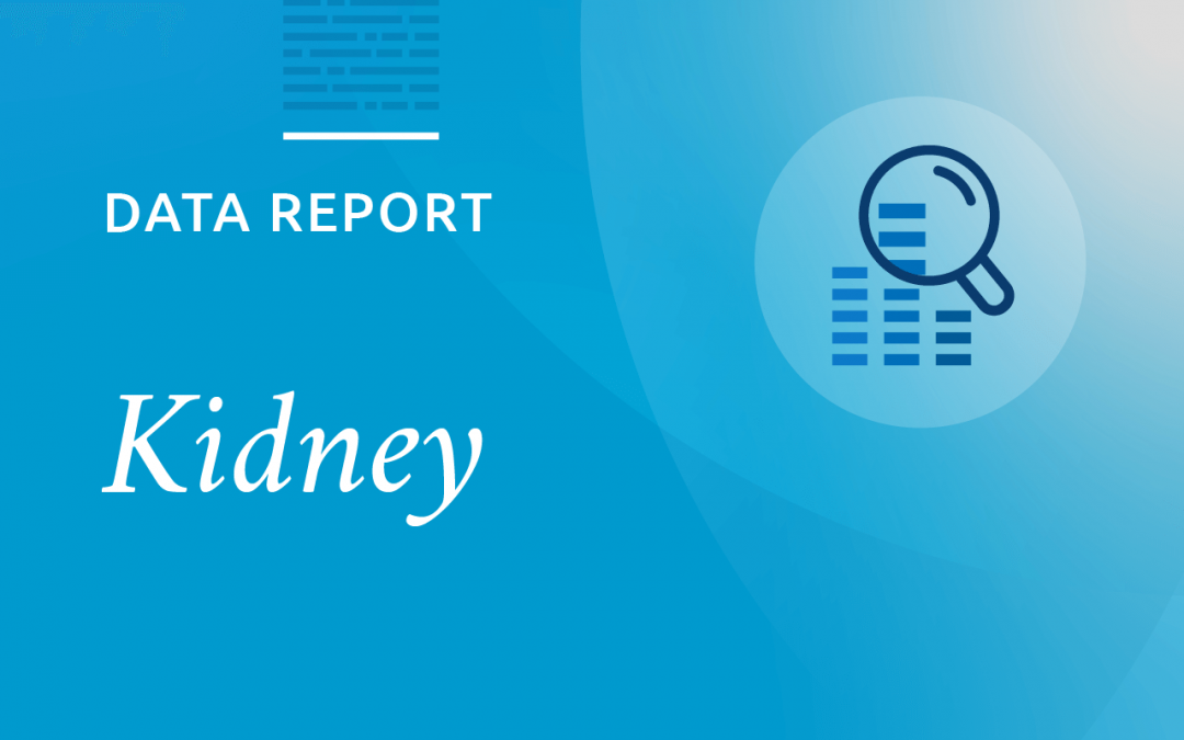 Updated monitoring report of kidney data shows increase in transplants, new policies having anticipated impact