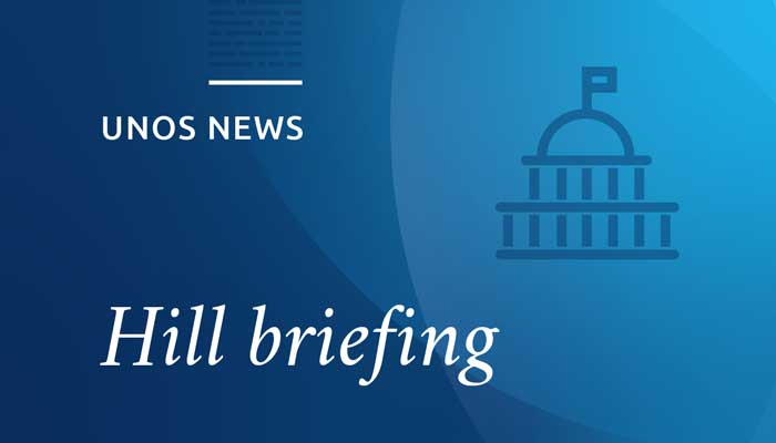 Congressional briefing highlights transplant success, improvement