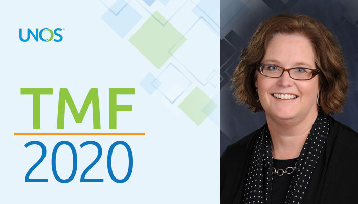 Chair of Transplant Administrators Committee previews opening session of TMF