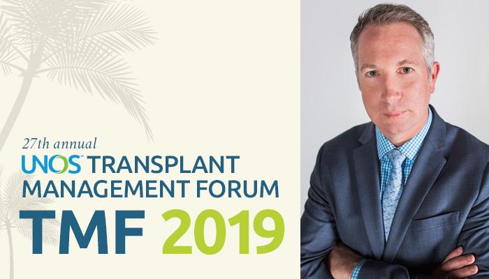 James Pittman on the art of transplant administration