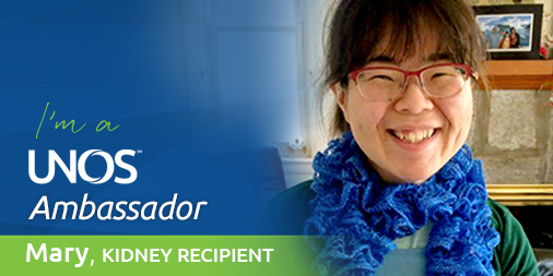 Ambassador story: Mary Wu