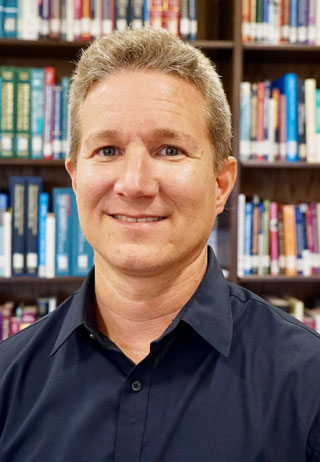 Darren Stewart, UNOS principal research scientist