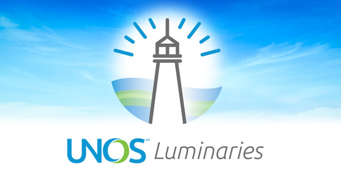 UNOS Luminaries brings together the community to continuously improve the system and save more lives.
