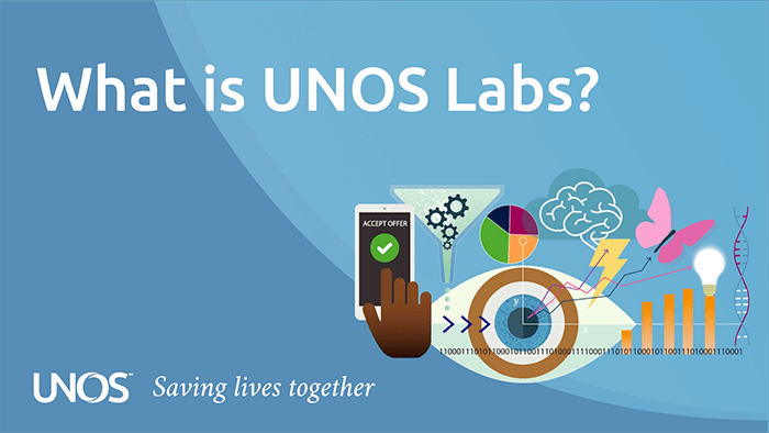 What is UNOS Labs with illustration showing innovative thinking