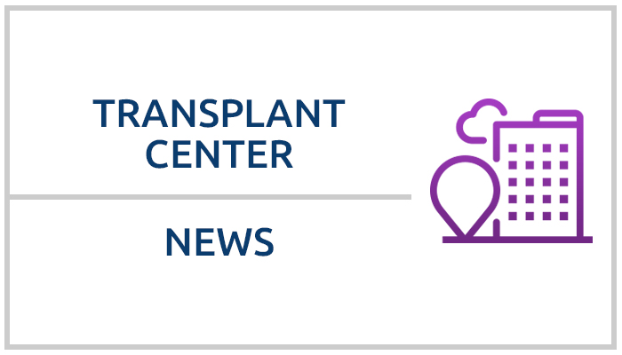 Your transplant program may receive secure e-mail regarding your patient status information