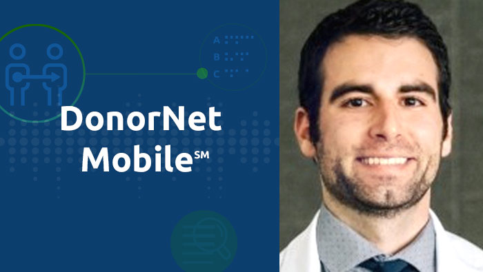Surgical assistant Jacob Mansy on collaborating to optimize the DonorNet website