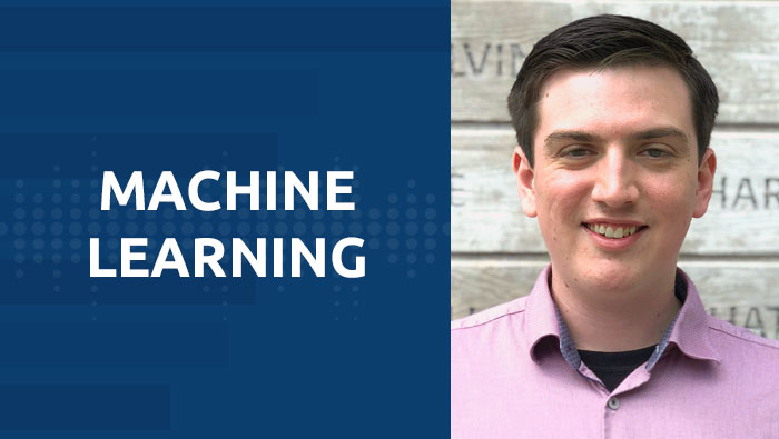 UNOS associate data scientist Carlos Martinez uses machine learning to interpret kidney allocation rates