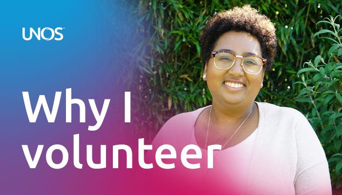 Why I volunteer: Amber Eck, UNOS ambassador