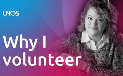 Why I volunteer: Colleen Reed, Ph.D., liver recipient