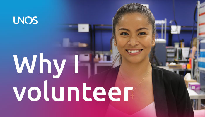 Why I volunteer: UNOS ambassador Monette Rockymore