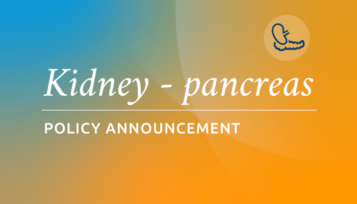 Kidney and pancreas allocation changes postponed