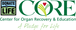 Logo for Center for Organ Recovery & Education