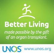 Better Living made possible by the gift of an organ transplant