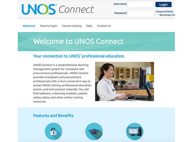 UNOS Connect