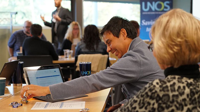 OPTN members network and learn from UNOS employees at Primer event