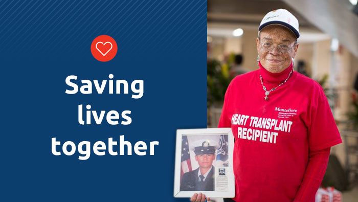 """""""I pledged to my donor family I would carry his heart with honor"""": UNOS Ambassador Roxanne Watson on fulfilling a promise."""