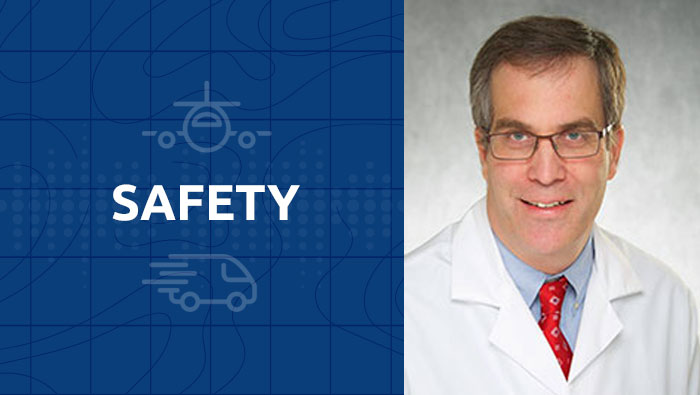 Setting travel safety standards for organ recovery teams